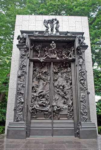 Auguste Rodin The Gates Of Hell