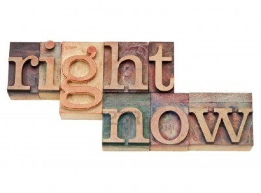 11928820-right-now--action-concept--isolated-text-in-vintage-wood-letterpress-printing-blocks-stained-by-colo