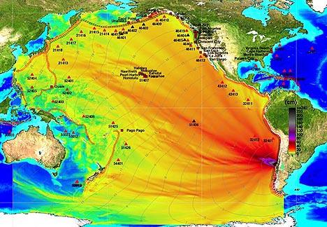 Chile earthquake and Tsunami