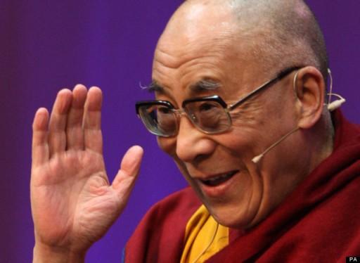 Dalai Lama visits Ireland