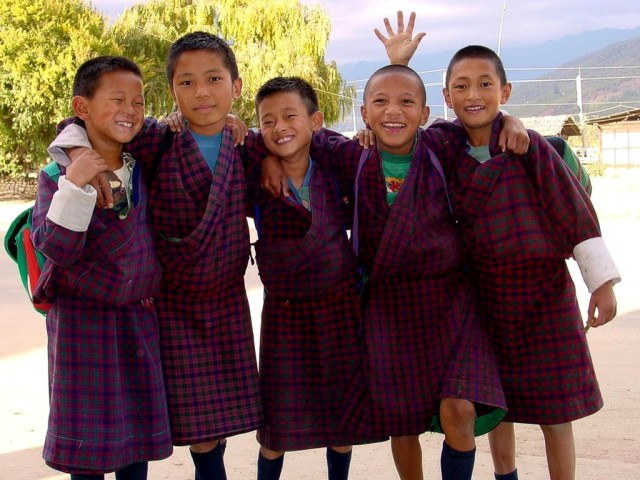 DOT_Bhutan_School_Children_1