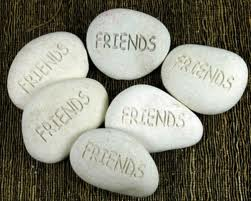 friends pebbles