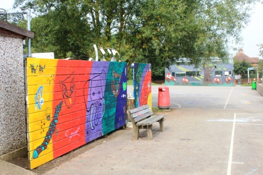 Playground graffiti