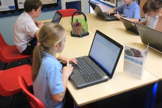 Using laptops