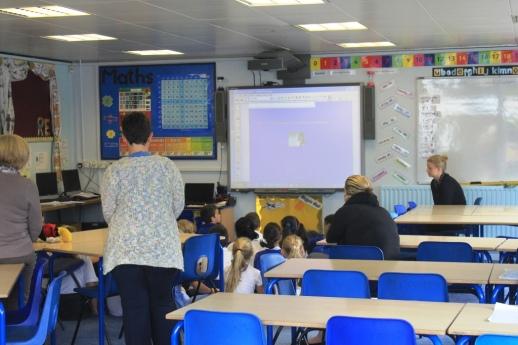 Year Five classroom