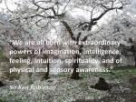 Ken Robinson quote
