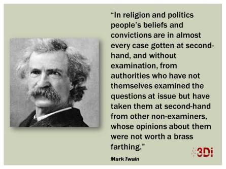 Mark Twain Religion and Politics