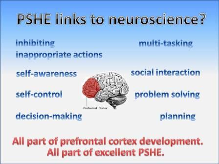 PSHE and neuroscience