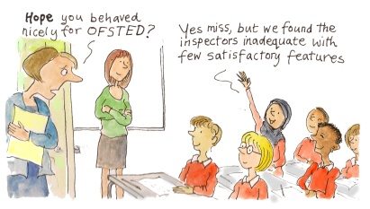 Ros Asquith Cartoon, Guardian Education