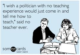 Politicans and Teachers