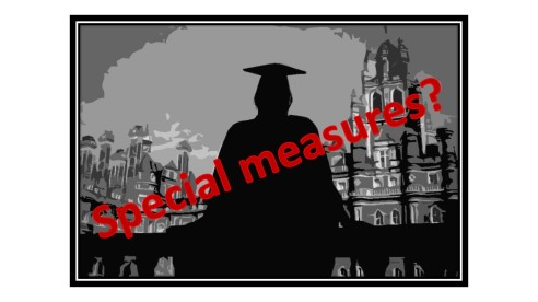 Special measures for universities