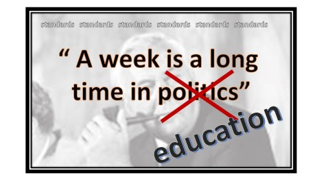 Week in politics.education
