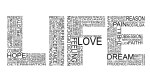 life-is-the-word-typography