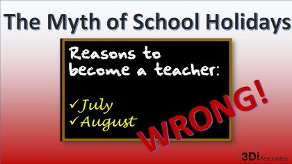 Myth of school holidays