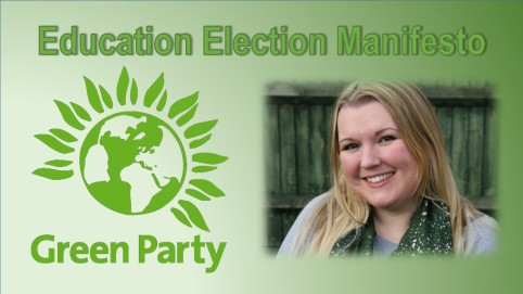 Green Party education manifesto photo