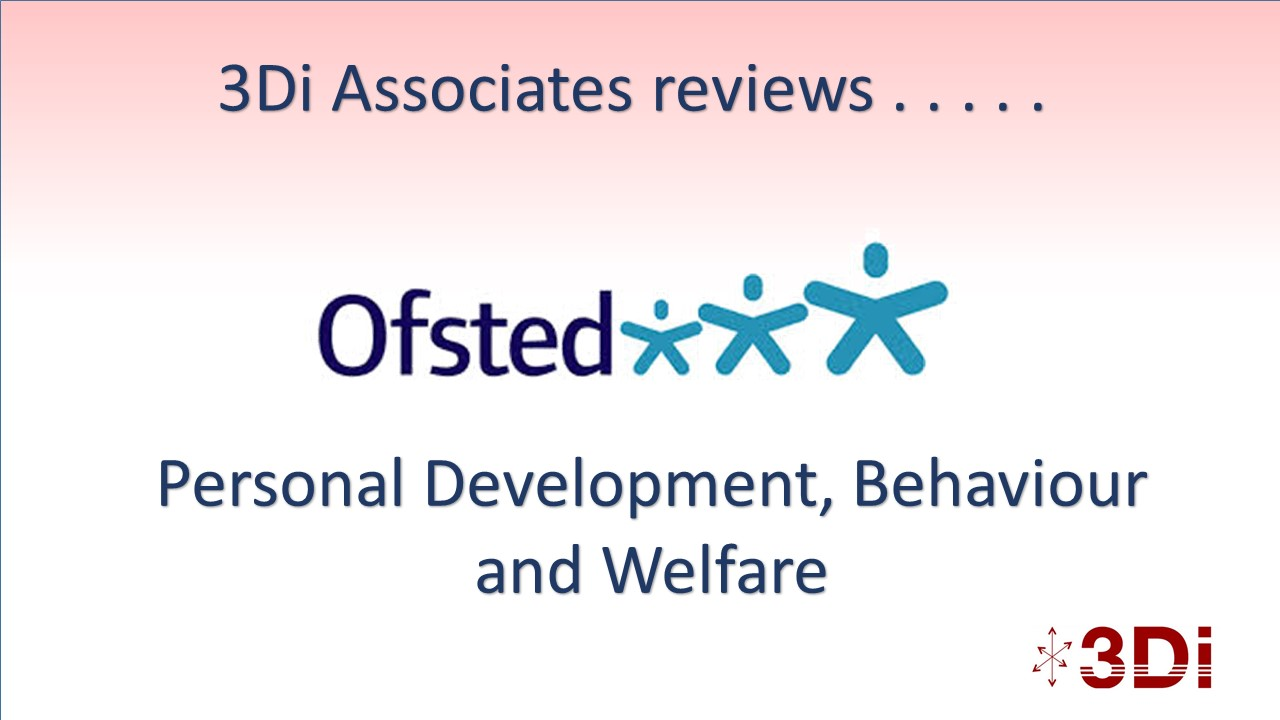 Ofsted and Personal Development Judgement