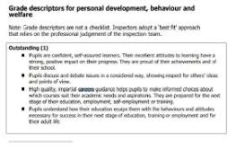 Ofsted Personal Development