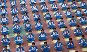 chinese schools rows