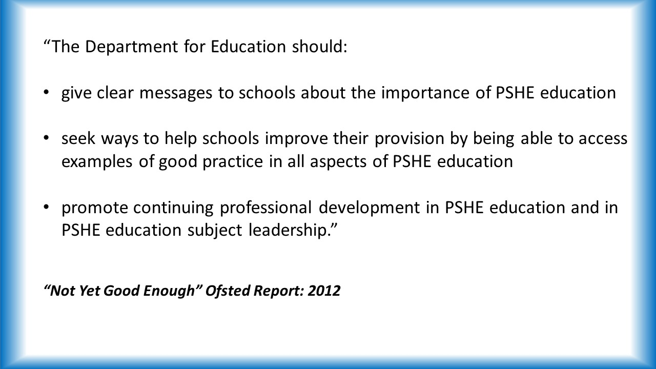 important ofsted changes personal development behaviour and nyge ofsted