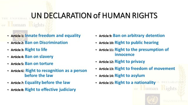 free essays on human rights They by virtue of being humans possess certain basic and inalienable rights  which are  and each of the essays explores the reality or validity of a claimed  right  in which alone the free and full development of his personality is  possible.