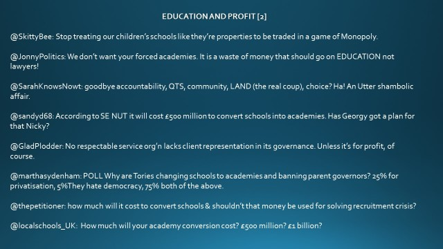 education and Profit [2]