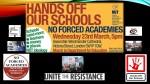 Hands Off Schools