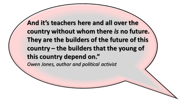 Quotes from Rally Owen Jones
