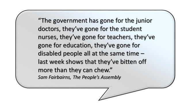 Quotes from Rally People's Assembly