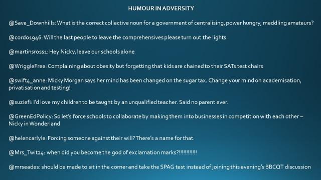TNN HUMOUR IN ADVERSITY
