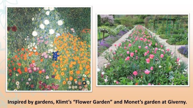 Klimt and Monet