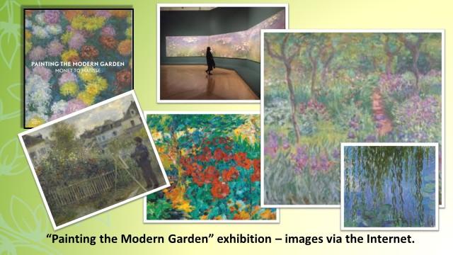 Modern Gardens exhibition