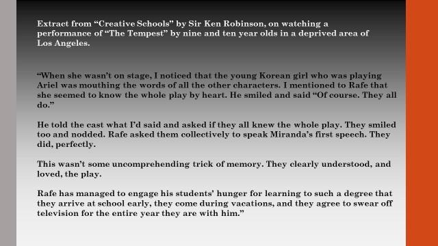 Ken Robinson Creative Schools Quote
