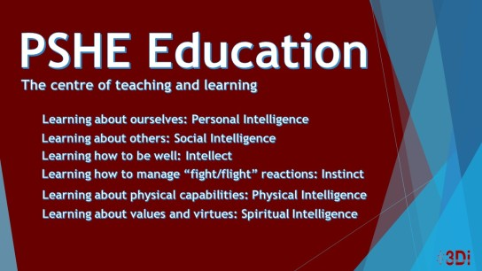 PSHE and intelligences