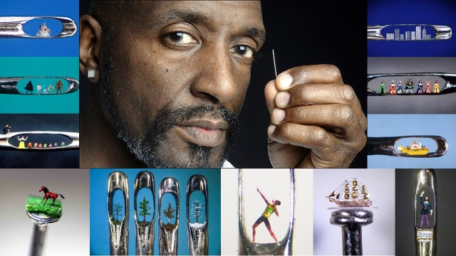 Willard Wigan Work