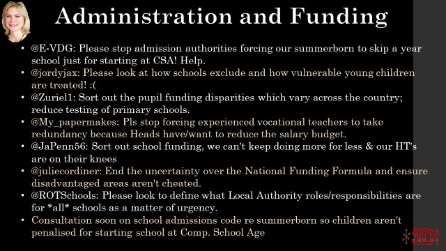Admin and Funding