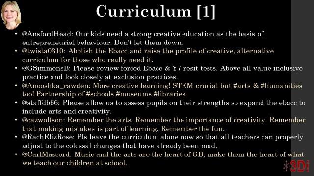 Curriculum 1