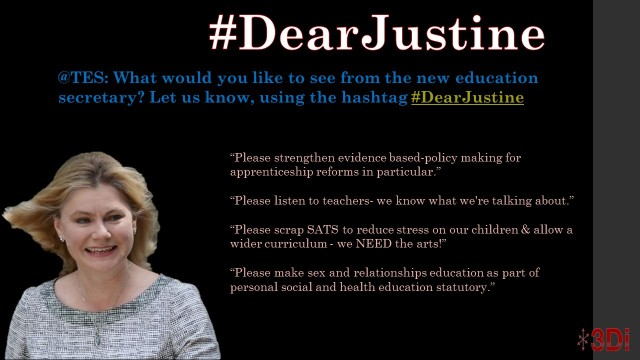 Dear Justine 2nd Slide