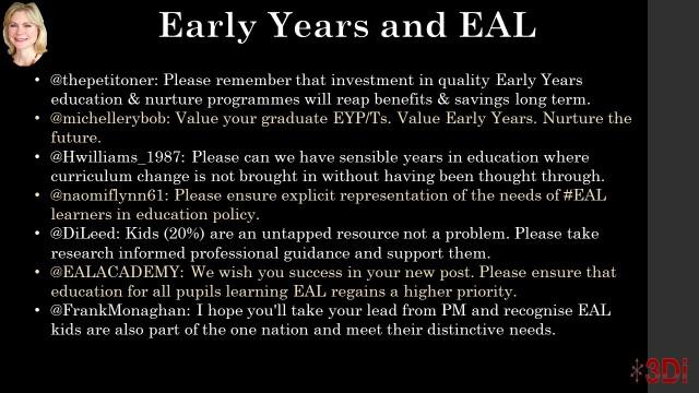 Early Years EAL