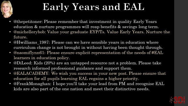 Early Years EAL