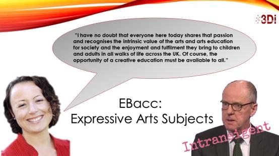EBacc Debate