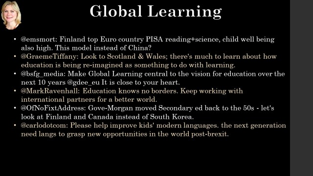 Global Learnning