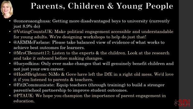 Parents, children