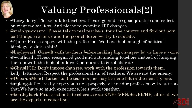 Valuing teachers 2