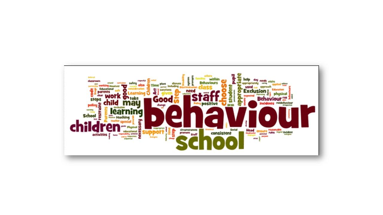 Good Behaviour Word Cloud