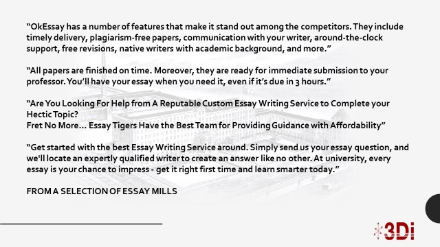 Sample Essay English Fear Not  At A Cost You Can Buy Essays And Dissertations From A Range Of  Companies That Offer Everything From Coursework To Customised Essays To  How To Write A Essay For High School also Thesis Statement In A Narrative Essay A Degree Of Fraud  A System Ripe For Reinvention  D Eye English 101 Essay